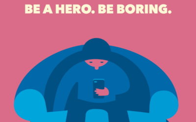 Being Boring Is an Act of Heroism During the Covid-19 Crisis